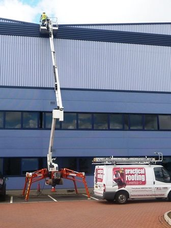High Level Access Equipment by Nottingham Roofing